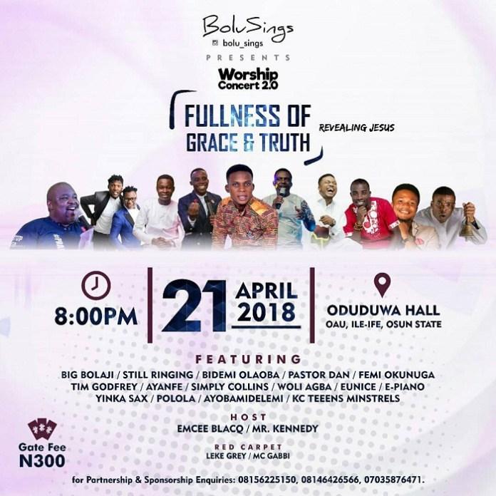 Bolu Sings Presents Worship Concert 2.0