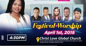 Fiefa Micah Live in Concert, Festival of Worship