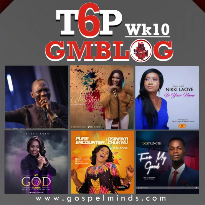 Week10 TOP6 Gospel songs