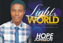 Hope Johnson - Light of the World