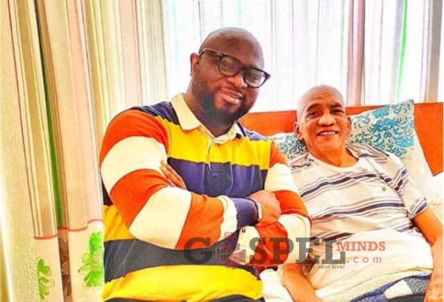 Wilson Joel visit Legend Lionel Petersen