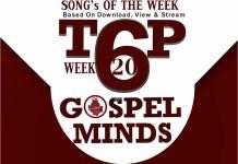 2018Week20 TOP6 Songs On Gospelminds.com