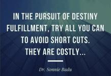 Dr. Sonnie Badu - Watch who u open up to!