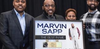 Marvin Sapp Single Best In Me RIAA certified Gold