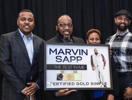 Marvin Sapp Single Best In Me RIAA certified Gold