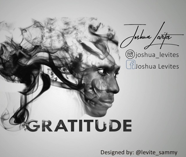 Joshua Levite Gratitude
