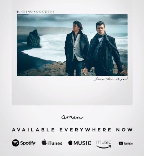 Amen - for KING & COUNTRY