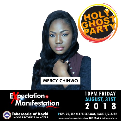 August HGP 2018 Mercy Chinwo