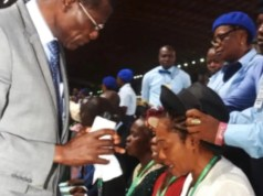 RCCG ordains Tinubu Wife (Senator Oluremi) as an Assistant Pastor 2