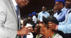 RCCG ordains Tinubu Wife (Senator Oluremi) as an Assistant Pastor 2