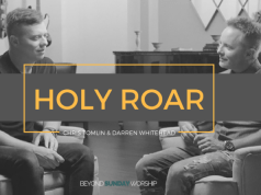 Chris Tomlin Reveals Album Cover for HOLY ROAR