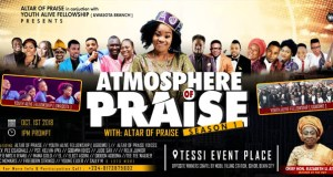 Event Atmosphere Of Praise Concert with Altar Of Praise 1st Oct 2018