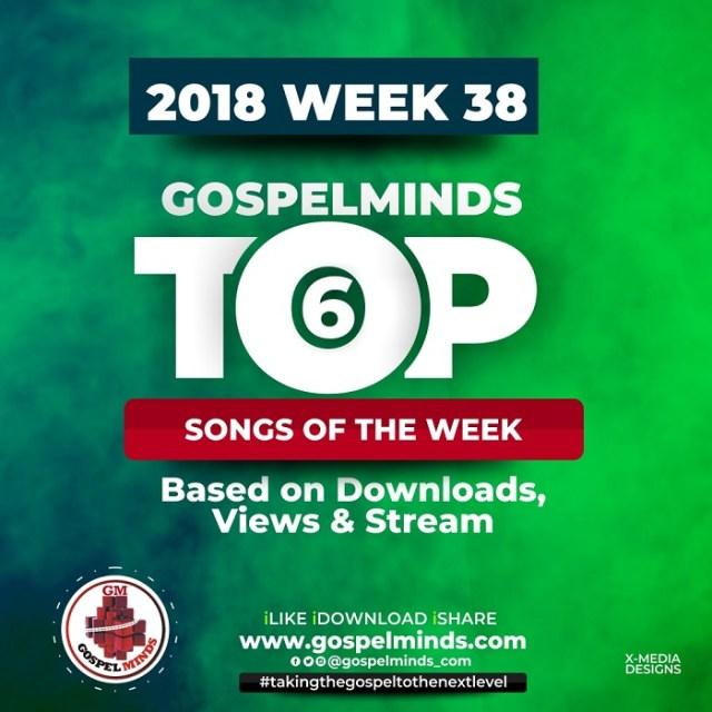 Top 6 Gospel Songs 2018 Week 38