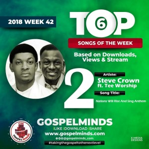 Steve Crown Ft. Tee Worship – Nations Will Rise And Sing Anthem No. 2