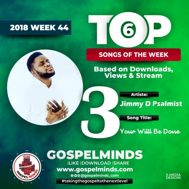 Jimmy D Psalmist – Your Will Be Done No. 3