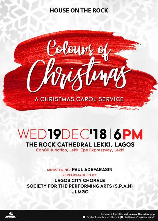 House On The Rock Colours of Christmas (A Christmas Carol Service)