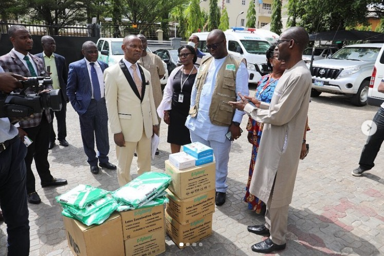 COVID-19 Bishop Oyedepo Donates Medical Equipment 2