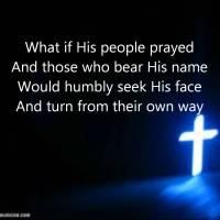 What If His People Prayed lyrics
