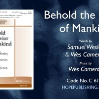 Behold The Savior Of Mankind - hymn lyrics
