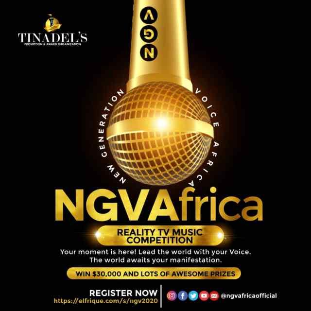BREAKING NEWS: Nigerian gospel music has gotten a bigger platform like Project Fame & BBnaija [See: NGVAfrica 2020 audition]