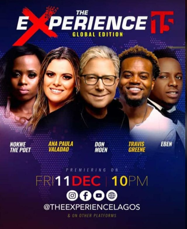 The EXPERIENCE 2020 Is Here (Annual Gospel Music Concert)