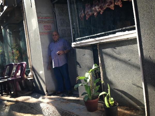 07.10 A local butcher