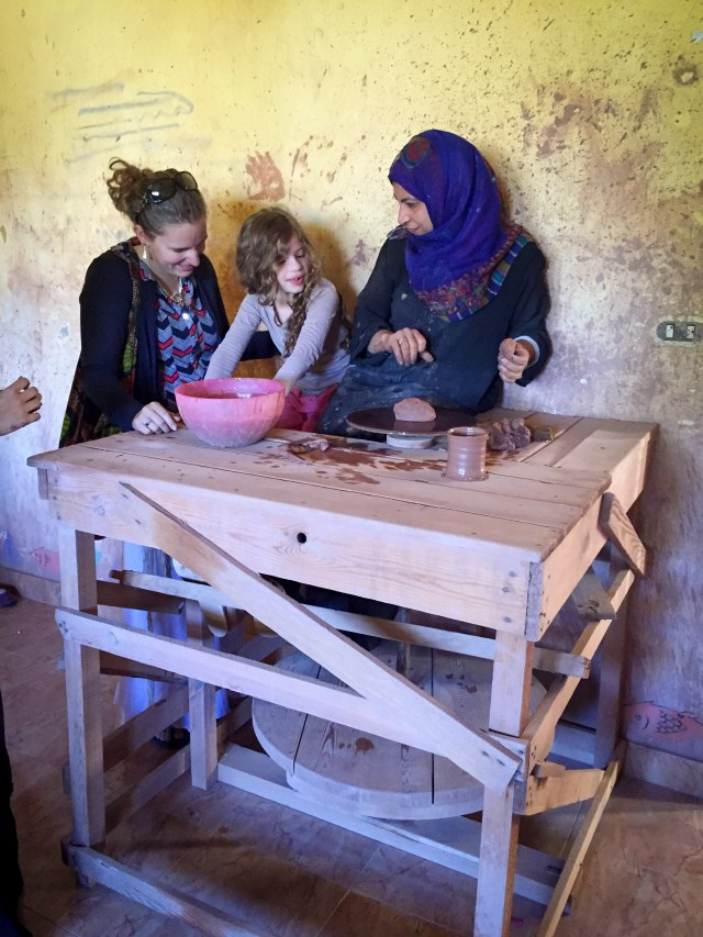 12.03-Crafts at the Nuba cultural center