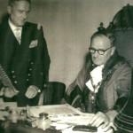 gosport royan twinning agreement signing 1959