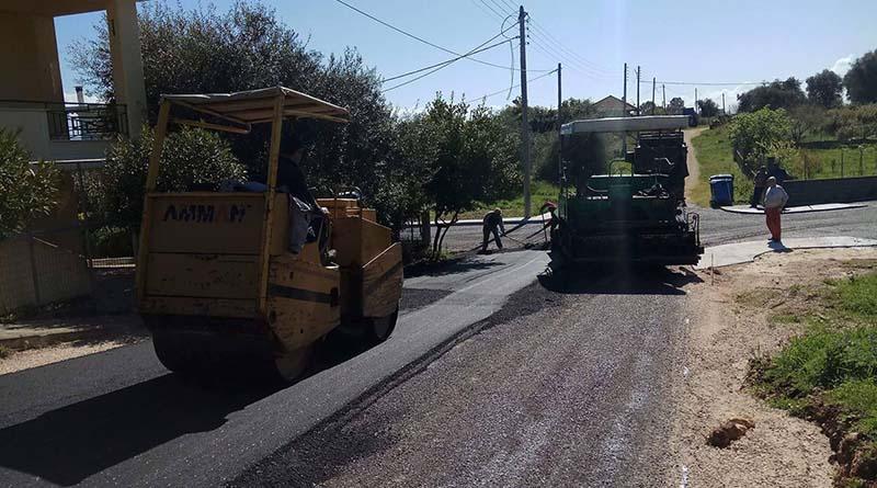 Στο Πρόγραμμα Αγροτικής Ανάπτυξης (ΕΣΠΑ) οι ασφαλτοστρώσεις αγροτικών δρόμων από Γαβριά έως Κωστακιούς με προϋπολογισμό 600.000 ευρώ
