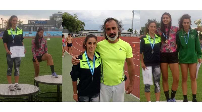 Ασημένιο μετάλλιο  για την Ευδοξία Κουρέτση στο Στο Πανελλήνιο Πρωτάθλημα Συνθέτων Αγωνισμάτων