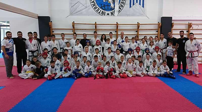 Με φιλικούς αγώνες (sparring &i tul) ξεκίνησε η αθλητική χρονιά για τον Ευκλέα Λευκάδας