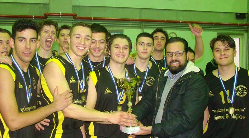 Πρωταθλήτρια Εφήβων η Νικόπολη– Νίκη επί της Δόξας Άρτας στον τελικό