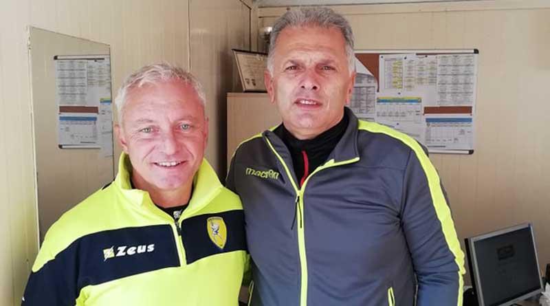 Στις αθλητικές εγκαταστάσεις του Παναιτωλικού βρέθηκε ο προπονητής Κυριάκος Παναγιωτίδης