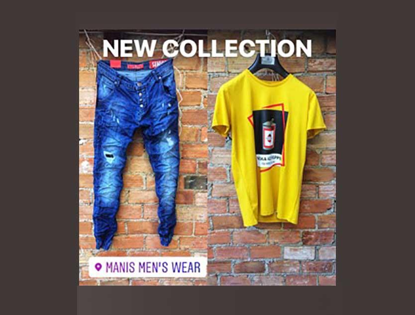 Νέα κολεξιόν στο κατάστημα Manis Mens Wear