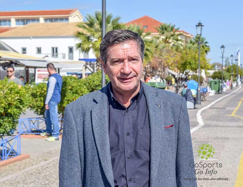 Ο Γιώργος Καμίνης την Τρίτη 7 Μαΐου  2019, στην Πρέβεζα.