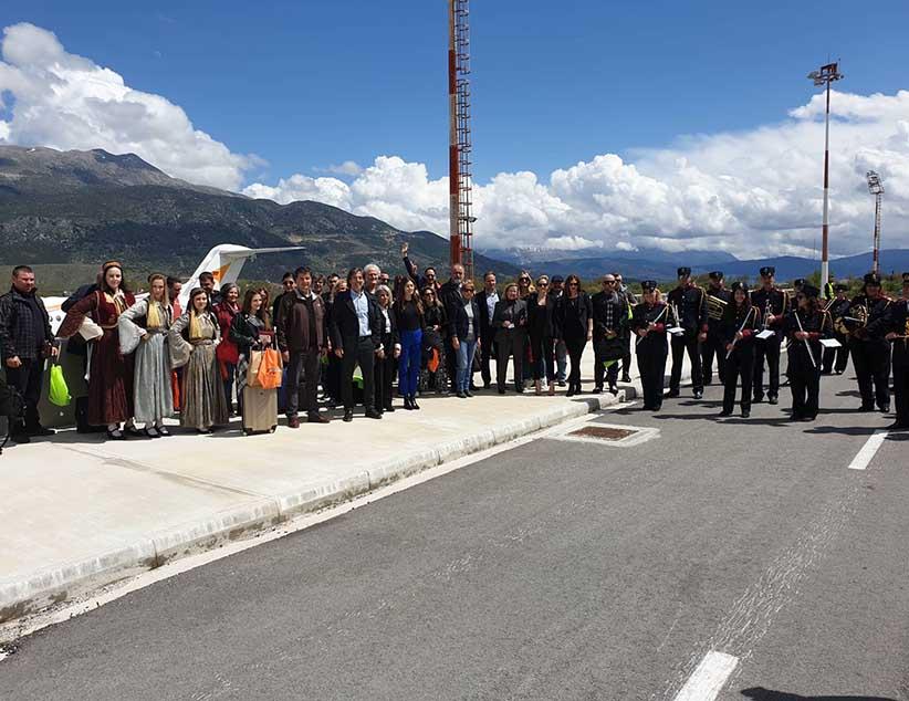 Ο Δήμος Ιωαννιτών υποδέχτηκε την πτήση της TUS από τη Λάρνακα