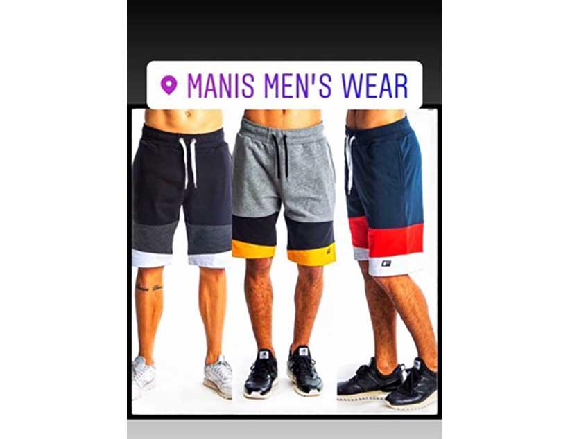 Manis Mens Wear : Καλοκαιρινές βερμούδες με μόλις 15 ευρώ