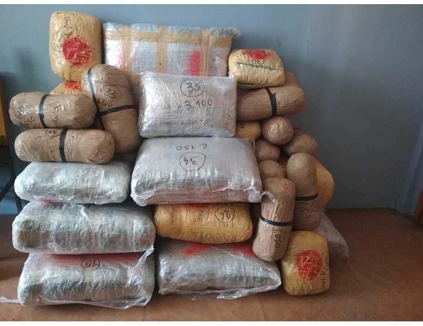 Ιωάννινα: Κατασχέθηκε ποσότητα ακατέργαστης κάνναβης, βάρους 94 κιλών και 800 γραμμαρίων