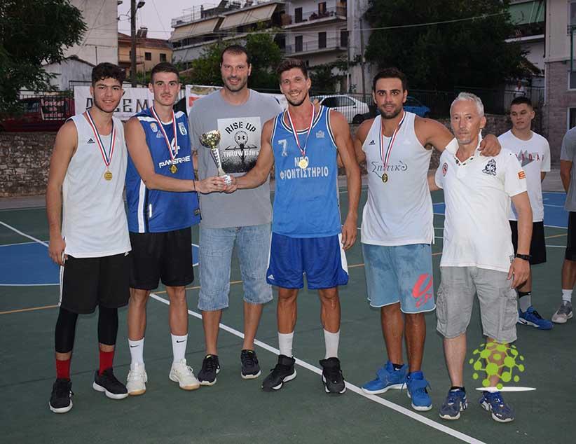 Ολοκληρώθηκε το 3ο τουρνουά μπάσκετ 3on3 «Πήγασος»- Νικήτρια ομάδα τα «Άχρηστα Υλικά»