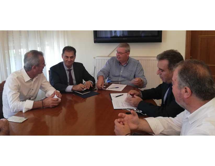 Σύσκεψη για την τουριστική ανάπτυξη Ηπείρου πραγματοποιήθηκε  στην Περιφέρεια παρουσία Υπουργού και Υφυπουργού