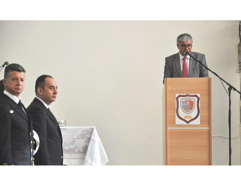 Καλωσόρισμα του Δημάρχου Πρέβεζας κ.Νίκου Γεωργάκου στους πρωτοετείς Σπουδαστές της   Ακαδημίας Εμπορικού Ναυτικού Ηπείρου.