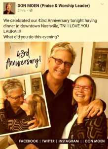 don moen wedding aniversarry 43