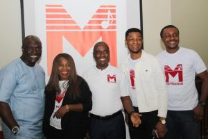Minstrels at the event launch