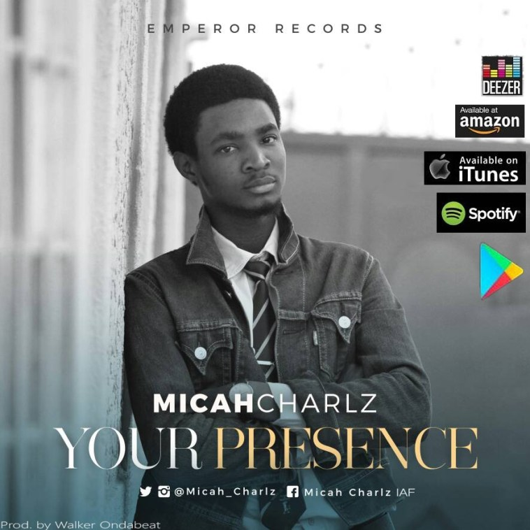 Micah Charlz - Your Presence [Art cover]