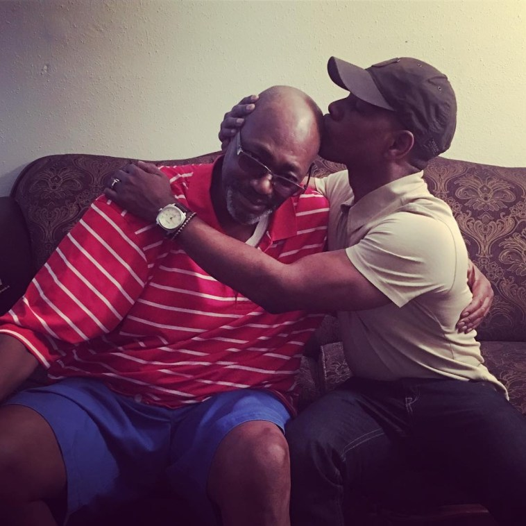 Kirk Franklin and Dad