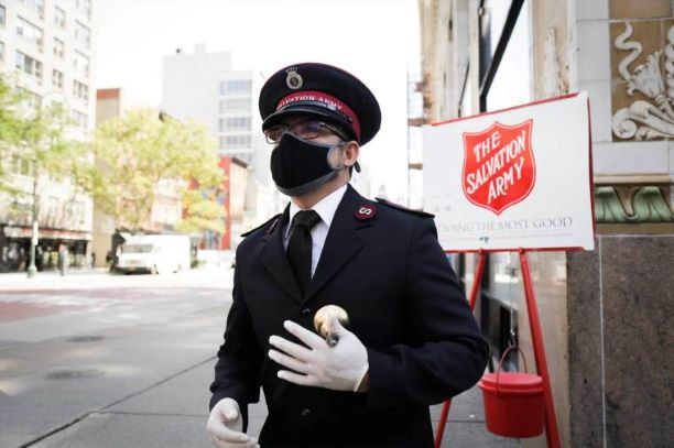 SALVATION ARMY LAUNCHING HOLIDAY FUNDRAISING