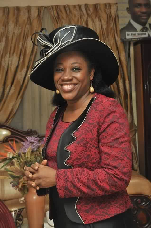 DR BECKY ENENCHE CELEBRATES BIRTHDAY TODAY