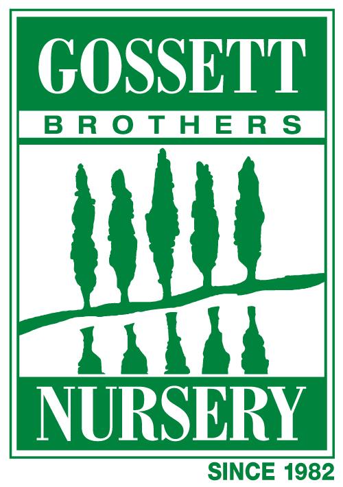 Gossett Brothers Nursery full logo