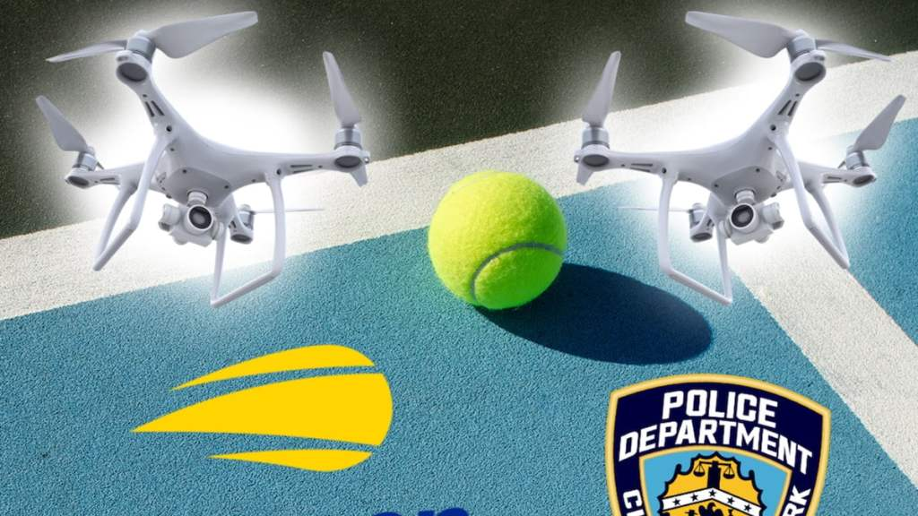 NYPD Sending Counter-Drone Team To U.S. Open, No Fly Zone