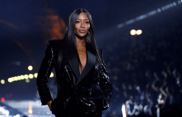 Naomi Campbell seemingly hinted at her impending baby joy